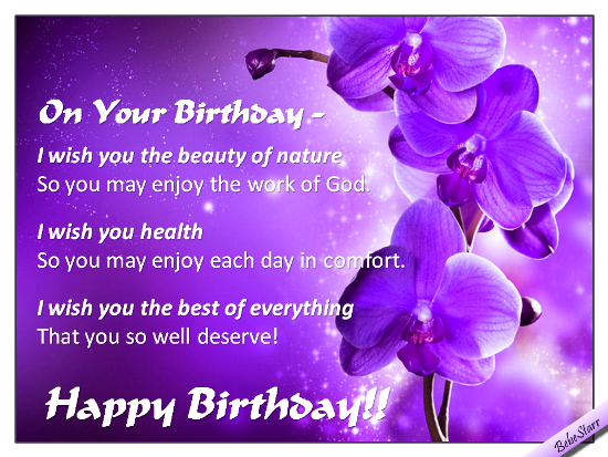 Birthday Wish For All The Best Free Birthday Wishes eCards – Special Birthday Greeting