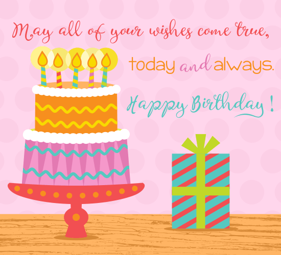 Birthday Cake Images Messages : Birthday Cake Wishes. Free Birthday Wishes eCards ...