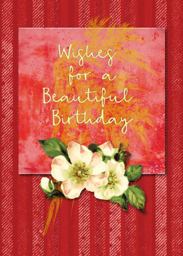 Fabulous Beautiful Flower For Birthday Wishes Free Birthday Wishes Personalised Birthday Cards Veneteletsinfo