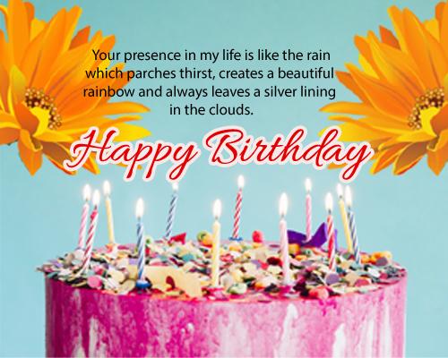 Cute Happy Bithday Wishes Free Birthday Wishes Ecards