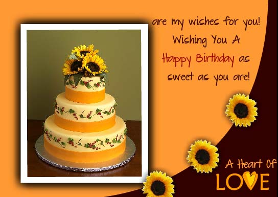Birthday Cakes For Your Dear Ones Free Birthday Wishes