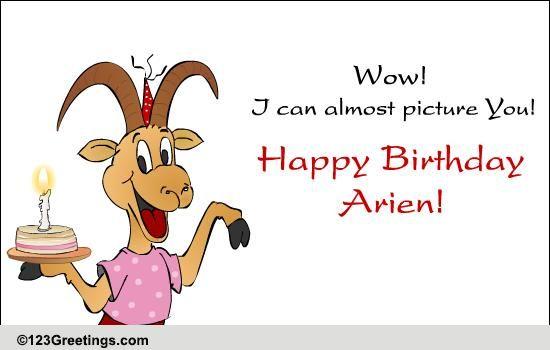 Fun Aries B Day Wish Free Zodiac Ecards Greeting Cards