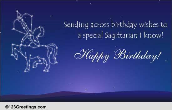 Zodiac Sagittarius 22 Nov 21st Dec Free Zodiac Ecards