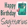 Happy Birthday Optimistic Sagittarius!