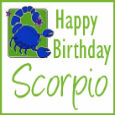 Happy Birthday Honest Scorpio!