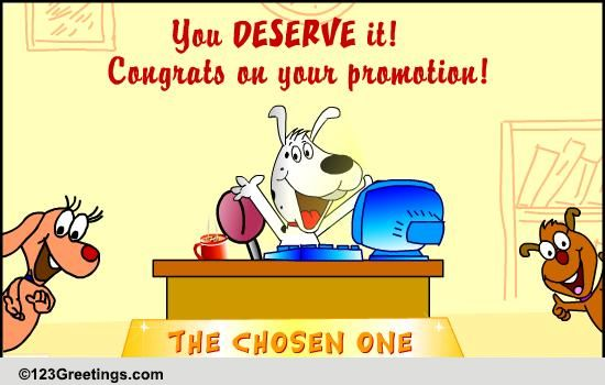 On Promotion Free Congratulations ECards Greeting Cards 123