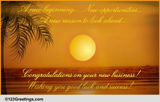 a new business venture free congratulations ecards greeting cards 123 greetings