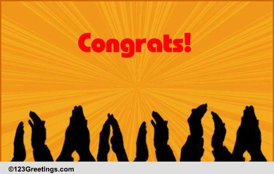 Swell Congratulate Your Colleague Free Congratulations Ecards Funny Birthday Cards Online Ioscodamsfinfo