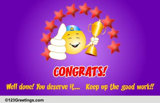congrats well done free congratulations ecards greeting cards