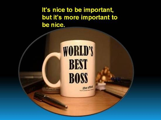 Compliment Your Boss.