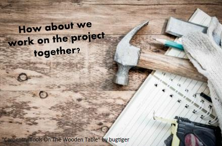 Work On A Project Together.