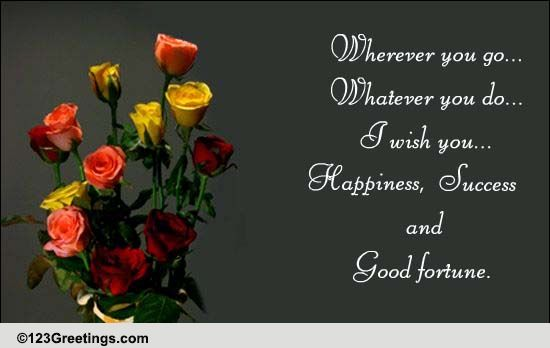 warm farewell wishes    free farewell ecards  greeting