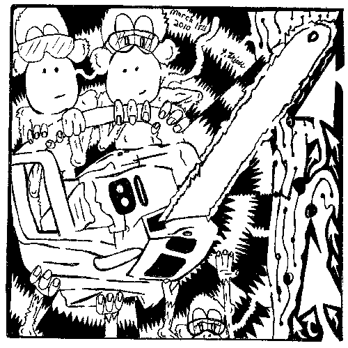 Lumberjack Monkeys Maze.