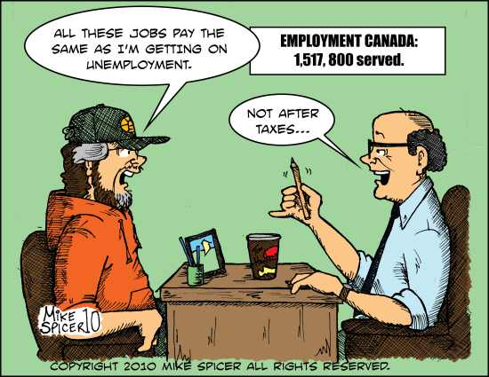The Job Center.