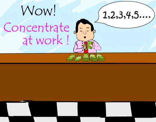 how to concentrate on work