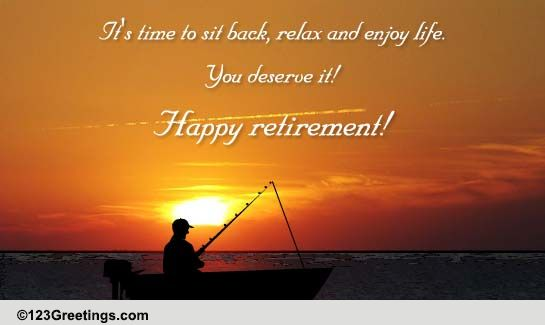have a happy retired life  free retirement ecards