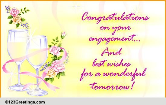 congratulations  free engagement ecards  greeting cards