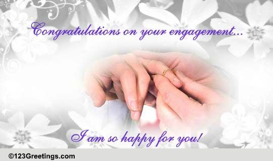 i u0026 39 m so happy for you  free engagement ecards  greeting