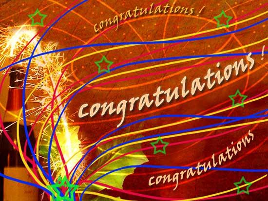 sending sparkling congratulations  free for everyone