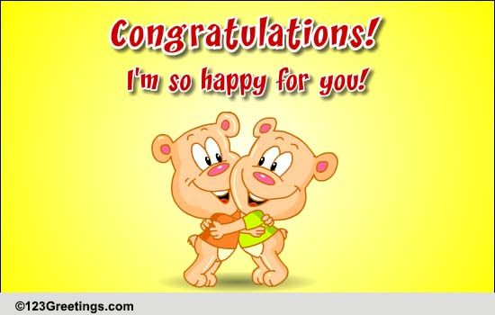 say congratulations  free for everyone ecards  greeting