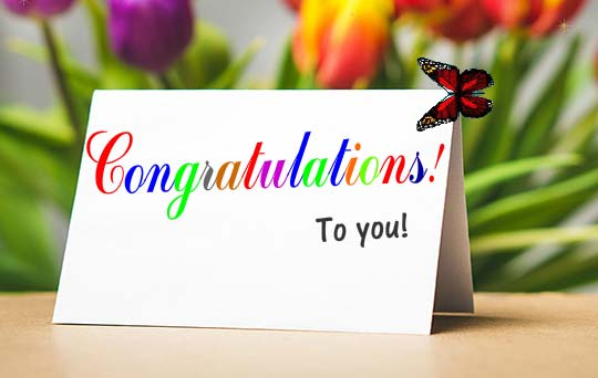 Congratulations On Your Achievement Free For Everyone