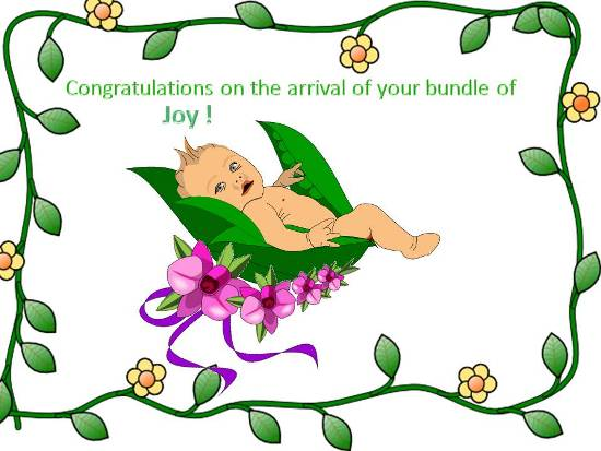 Congratulatory Message For A New Born.