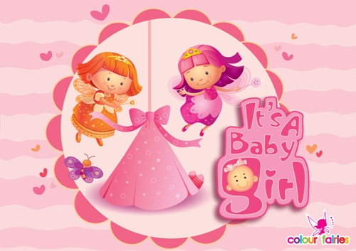 Its a baby girl congratulations free new baby ecards 123 greetings its a baby girl congratulations m4hsunfo