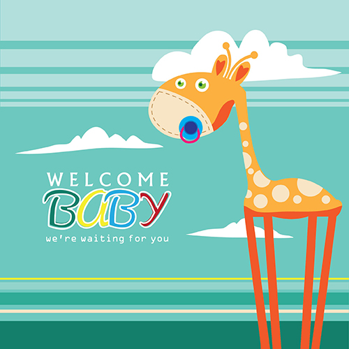 Welcome baby greeting card free new baby ecards greeting cards welcome baby greeting card m4hsunfo