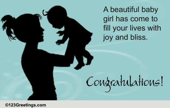 it u0026 39 s a girl  free new baby ecards  greeting cards