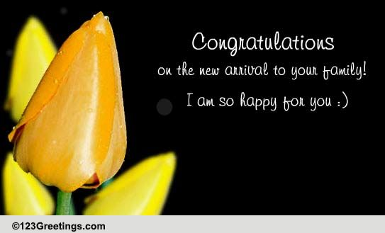 i am so happy for you  free new baby ecards  greeting