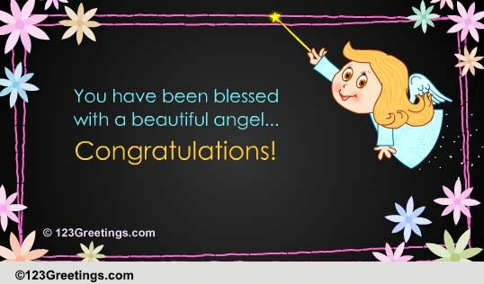 you have been blessed  free new baby ecards  greeting