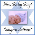 Congratulations On Your New Baby Boy.