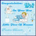 Congratulations On Your Baby Boy.