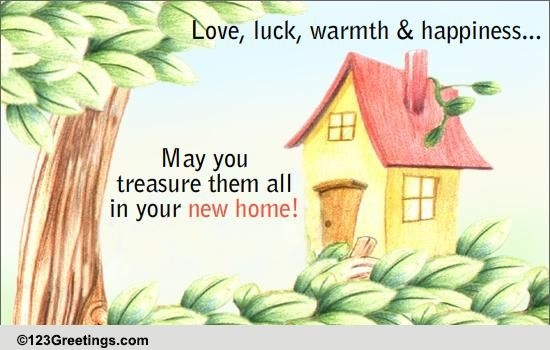 Wishing You Every Happiness In Your New Home