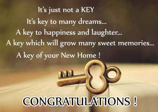 key of success    free new home ecards  greeting cards