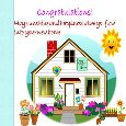 Home : Congratulations : New Home - Convey Your Happiness...