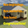New Home Congratulations!!