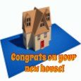 New Home Build Congrats.