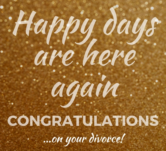 happy days after divorce  free on other occasions ecards  greeting cards