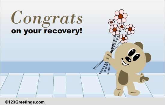 congrats on your recovery  free on other occasions ecards