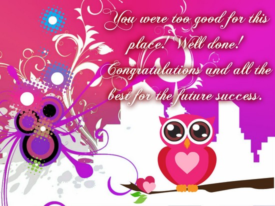 Congratulations promotion card yolarnetonic yay congratulations free promotion ecards greeting cards 123 m4hsunfo