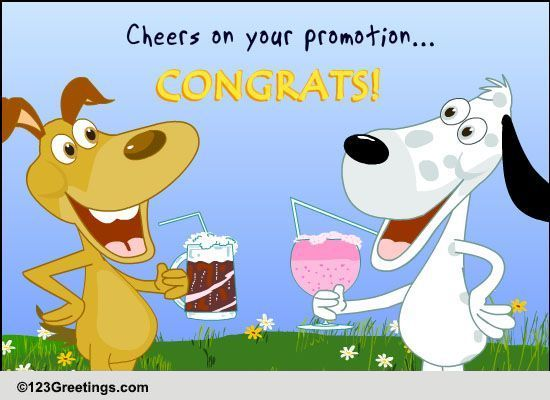 cheers on promotion free promotion ecards greeting cards 123