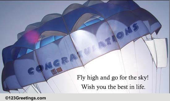 fly high  free promotion ecards  greeting cards