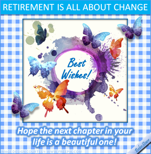 All about change free retirement ecards greeting cards 123 greetings all about change m4hsunfo