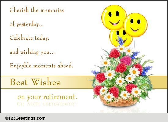 best wishes for retirement free retirement ecards, greeting, Greeting card