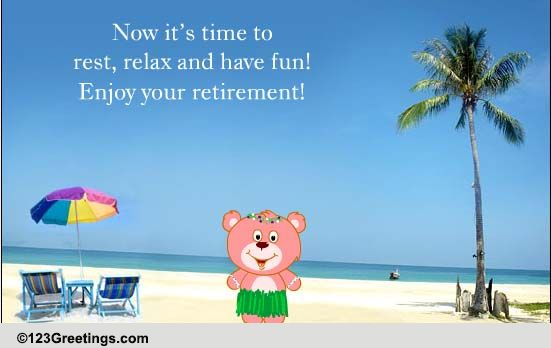 Quotes For A Friend Who Is Retiring : Congratulations retirement cards free