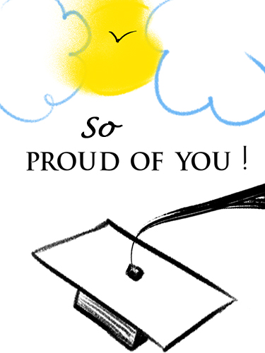 so proud of you  free graduation party ecards  greeting