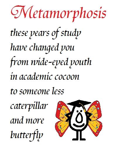 Metamorphosis -Fun Congrats...
