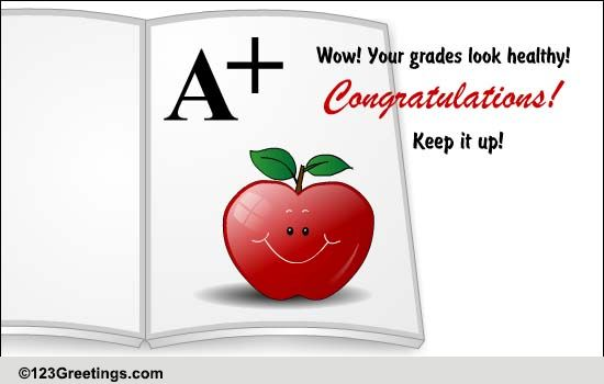 congratulations on good grades free graduation party ecards 123 greetings