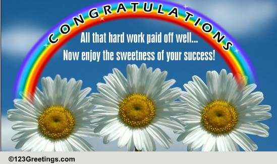 Your Hard Work Paid Off Well! Free Graduation Party eCards ... | 549 x 326 jpeg 69kB